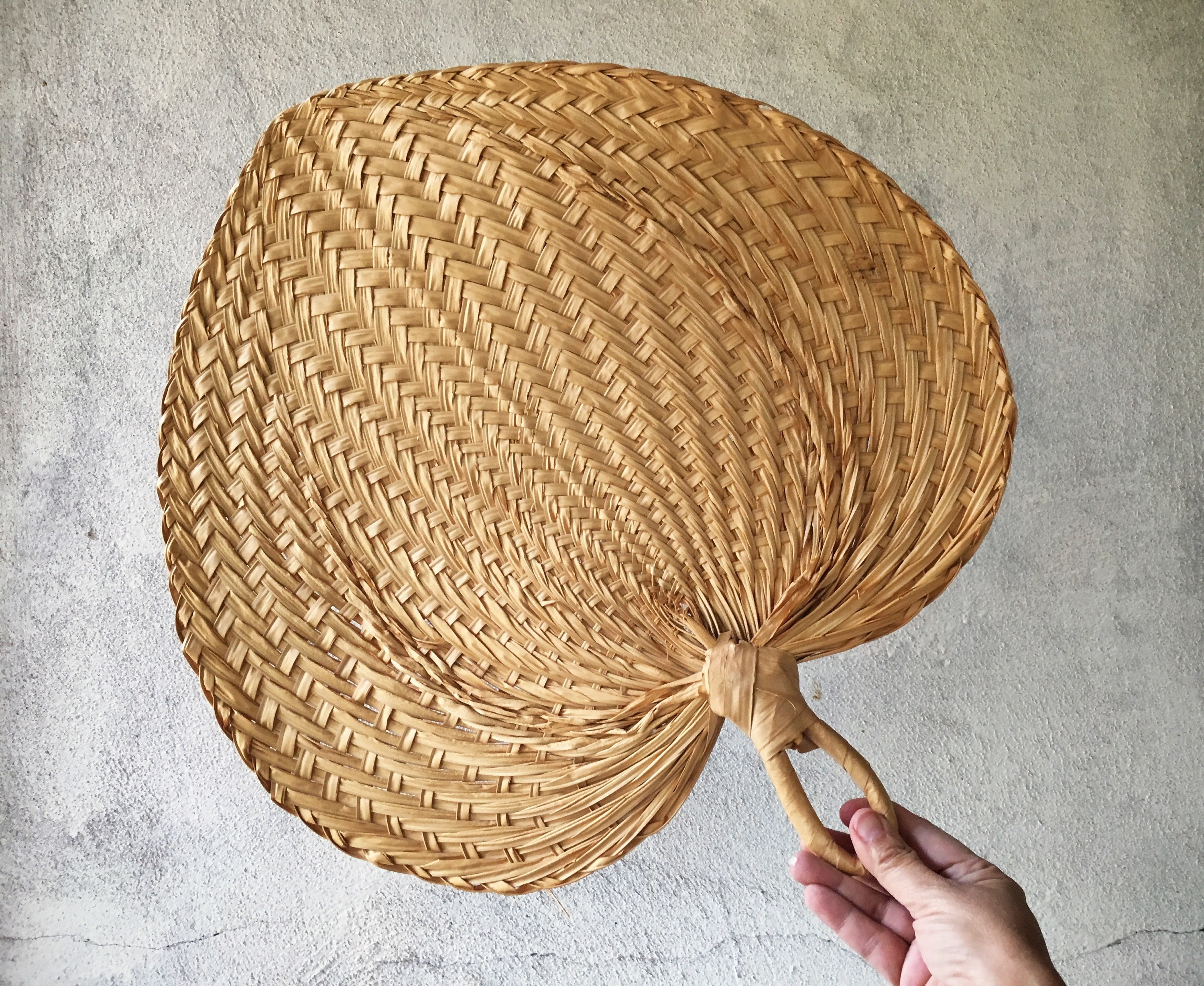 Famous Vintage Woven Straw Fan Wall Hanging Jungalow Decor Wicker Wall Art Pertaining To Woven Basket Wall Art (View 12 of 15)