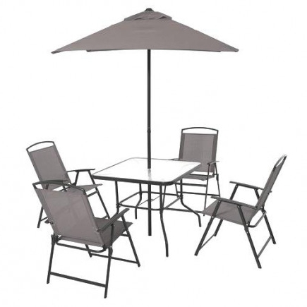 Famous Walmart Patio Umbrellas Intended For Patio Umbrellas Base Walmart Fx In Rustic Furniture For Small Patio (View 2 of 15)
