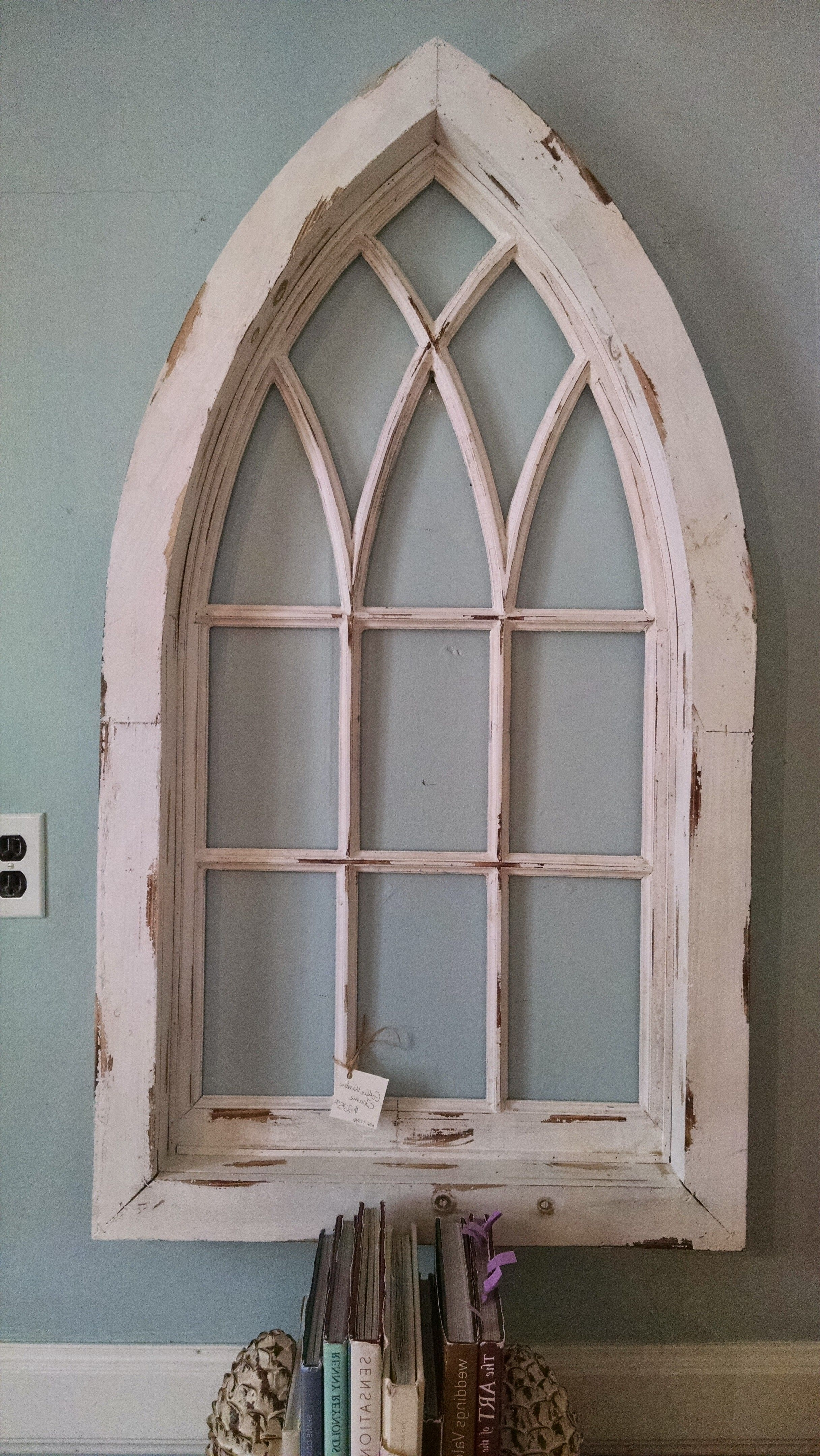 Famous Window Frame Wall Art Pertaining To Chapel Window, Wall Decor, Church Window, Cathedral Window (View 7 of 15)