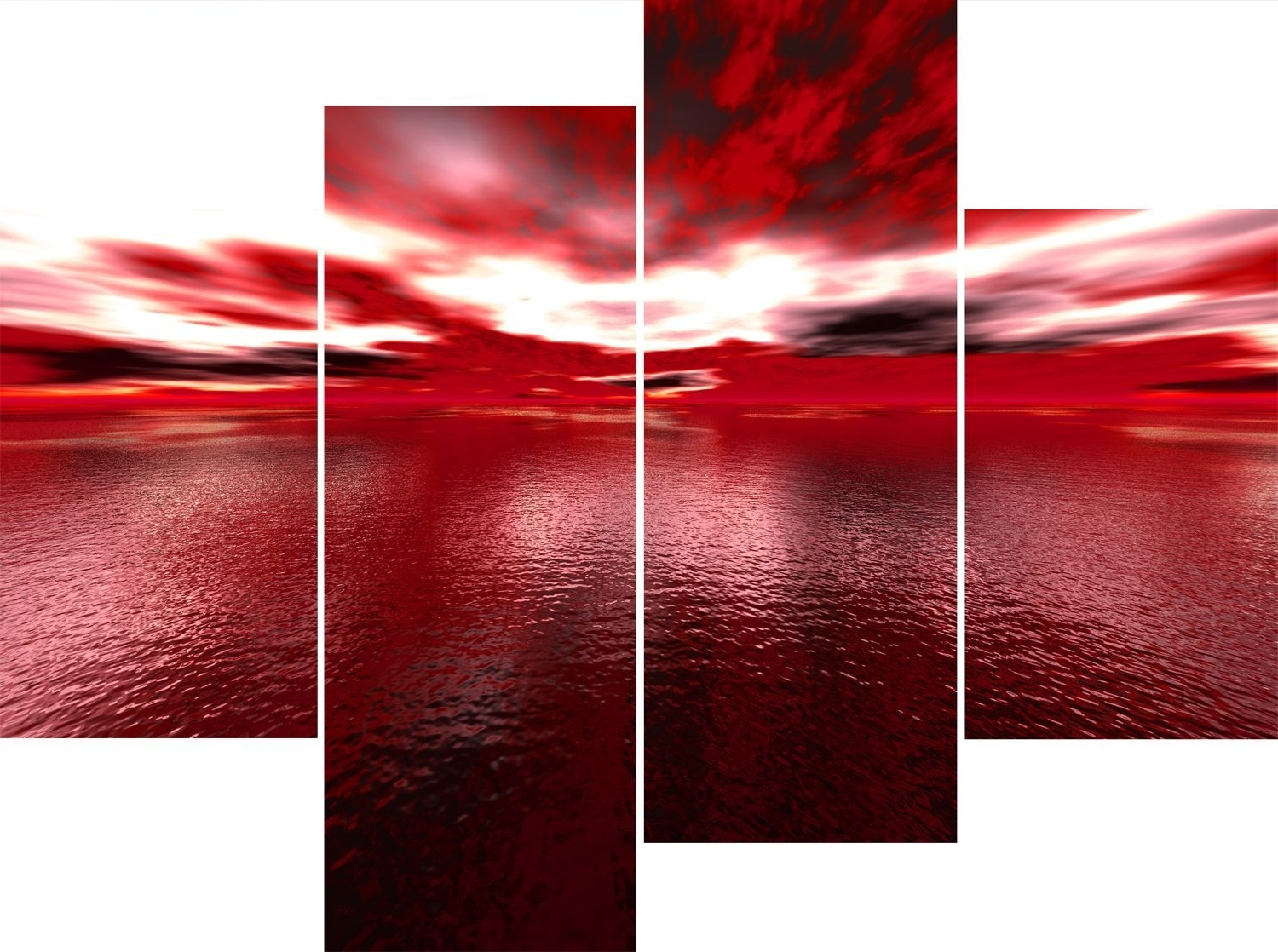 Fascinating Red Contemporary Canvas Wall Art In And Beige Velvet Within Recent Red And Black Canvas Wall Art (View 9 of 15)