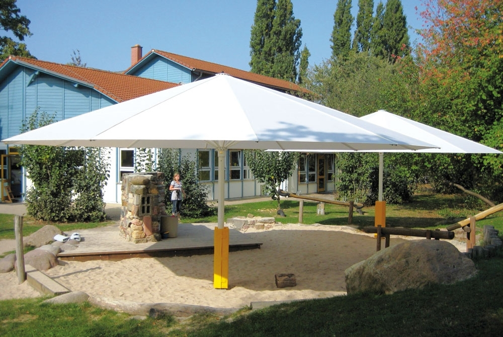 Fashionable Attractive Large Outdoor Umbrella Extra Patio Umbrellas Giant Within Oversized Patio Umbrellas (View 8 of 15)