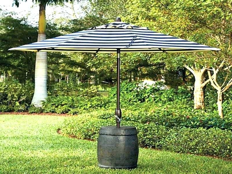 Fashionable Deck Umbrella Stand Umbrella Stand On Wheels Backyard Umbrella Ideas Throughout Patio Umbrellas With Wheels (View 7 of 15)