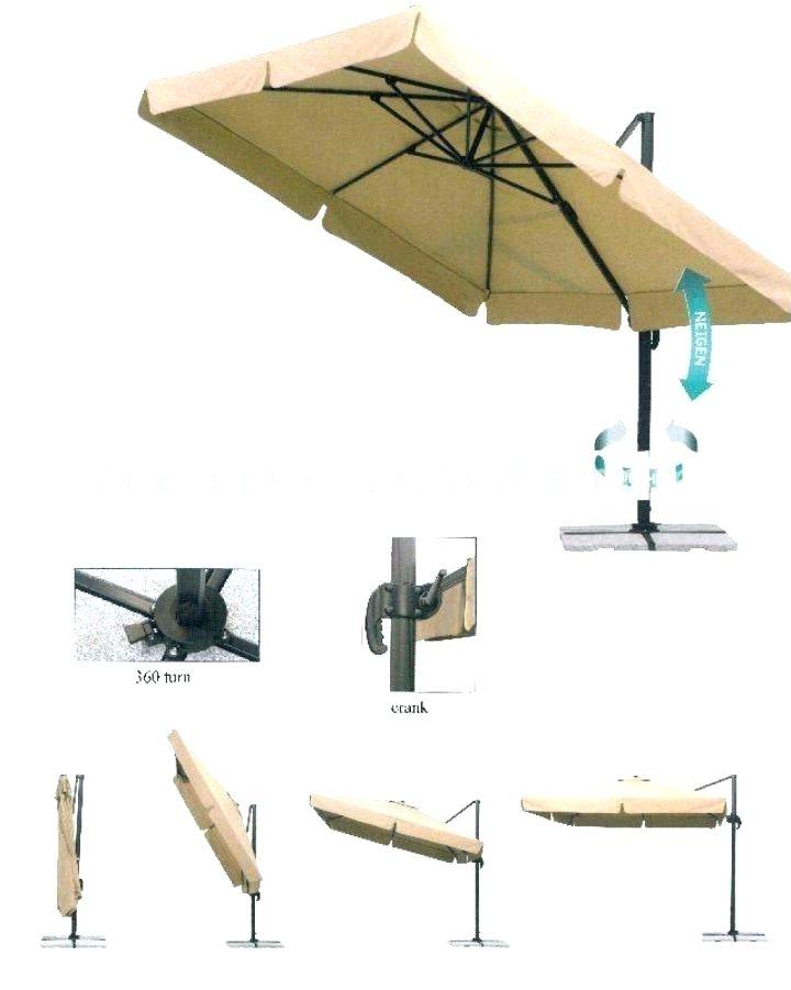 Fashionable Garden Treasures Offset Umbrellas Garden Treasures Offset Umbrella With Garden Treasures Patio Umbrellas (View 5 of 15)