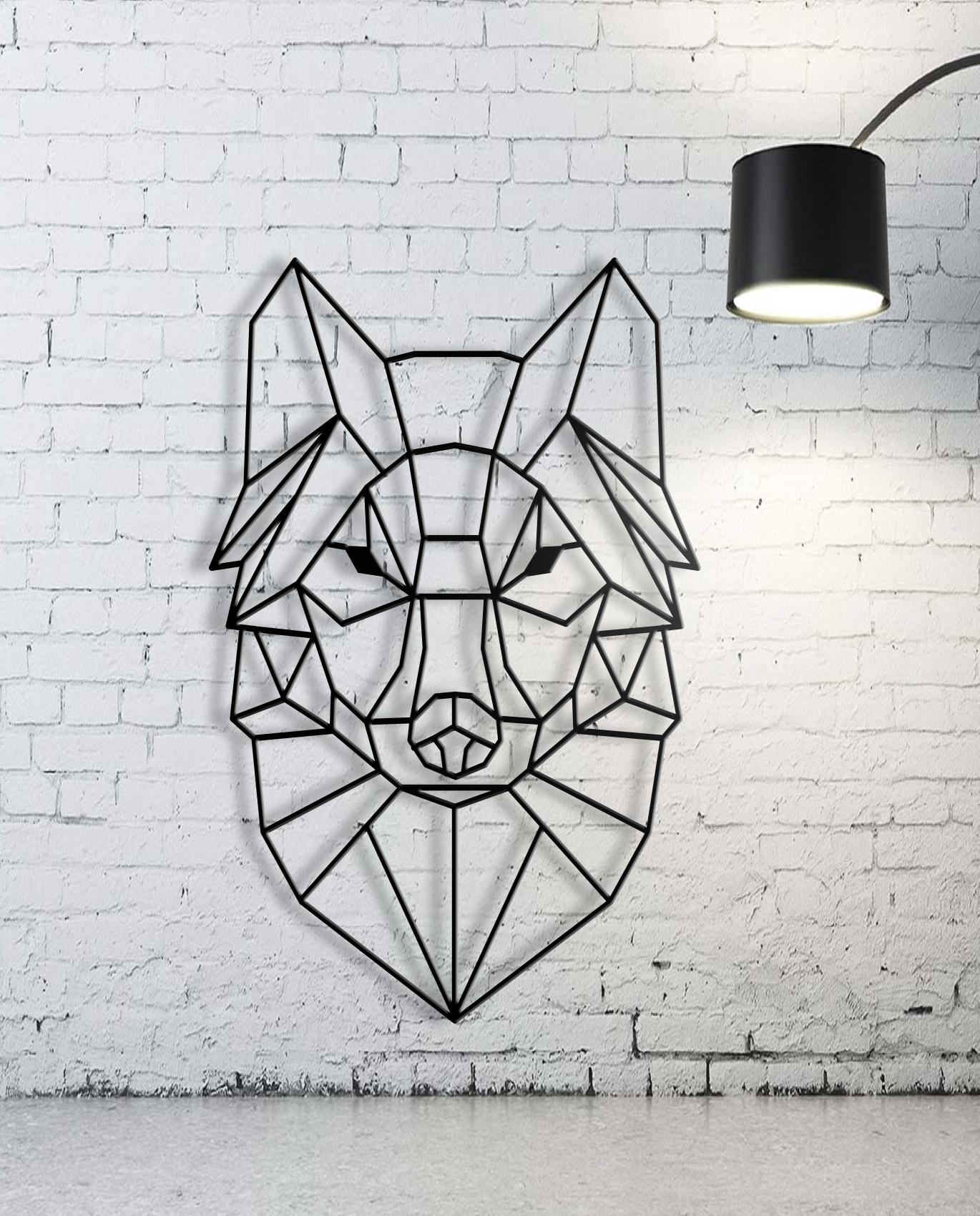 Fashionable Geometric Wall Art In Custom Animal Geometric Wall Art, Wall Art,custom Sign, Family Name (View 3 of 15)