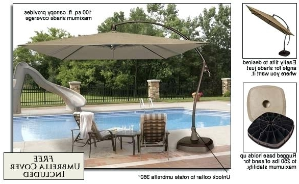 Fashionable Good 10 Ft Patio Umbrella For Ft Round Heavy Duty Strong Patio Throughout 10 Ft Patio Umbrellas (View 4 of 15)