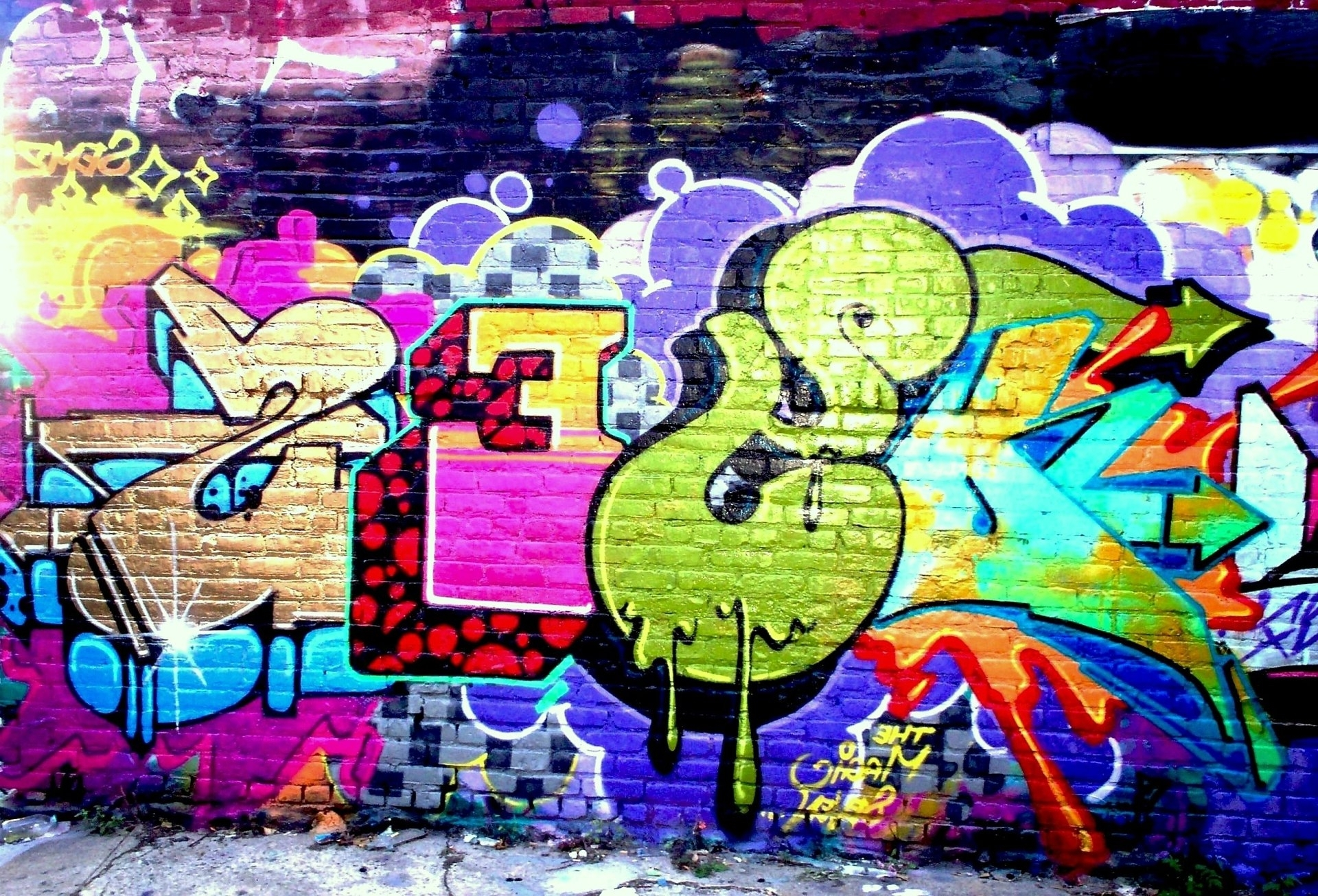 Fashionable Graffiti Wall Art In 332 Graffiti Hd Wallpapers (View 4 of 15)