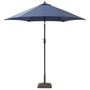 Fashionable Hampton Bay Patio Umbrellas Regarding Amazon: Hampton Bay 9 Ft (View 5 of 15)
