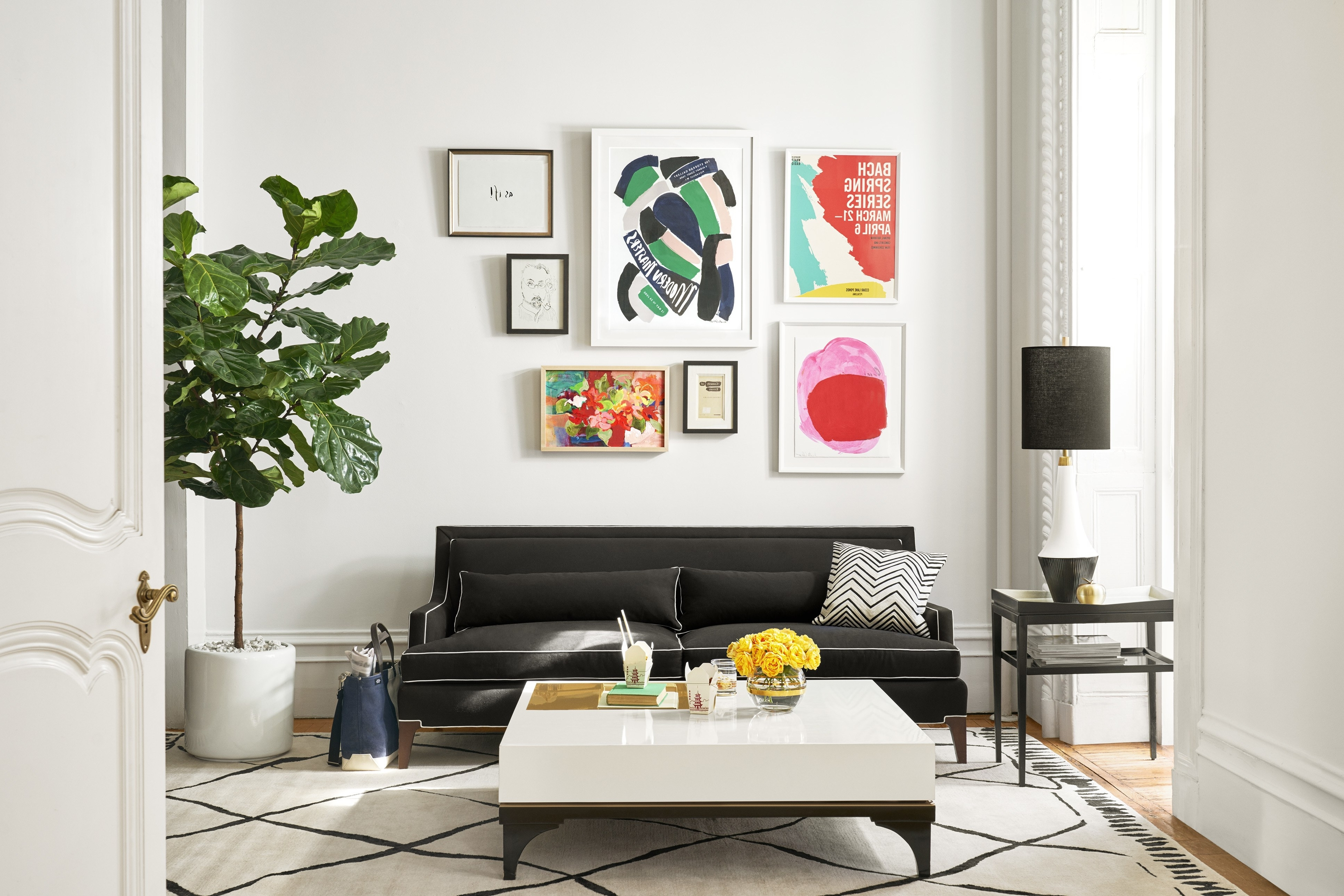 Fashionable How To Choose The Right Art For A Gallery Wall (View 5 of 15)