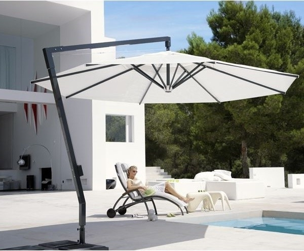 Fashionable How To Pick A Patio Umbrella That Performs With Regard To Expensive Patio Umbrellas (View 8 of 15)