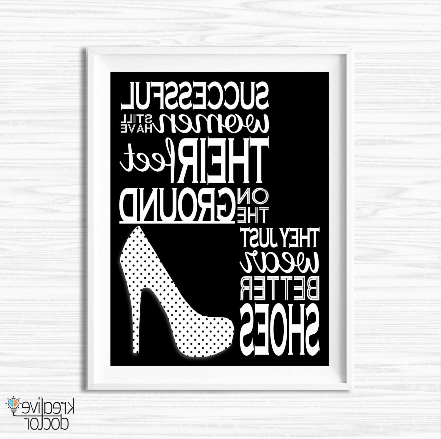 Fashionable Inspirational Wall Art Canvas In Canvas Quotes Motivational Wall Decor Inspirational Print (View 3 of 15)