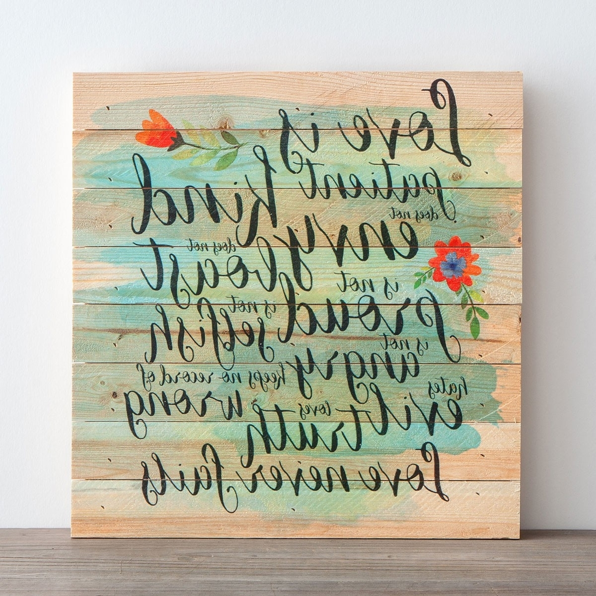 Featured Photo of Love Is Patient Wall Art