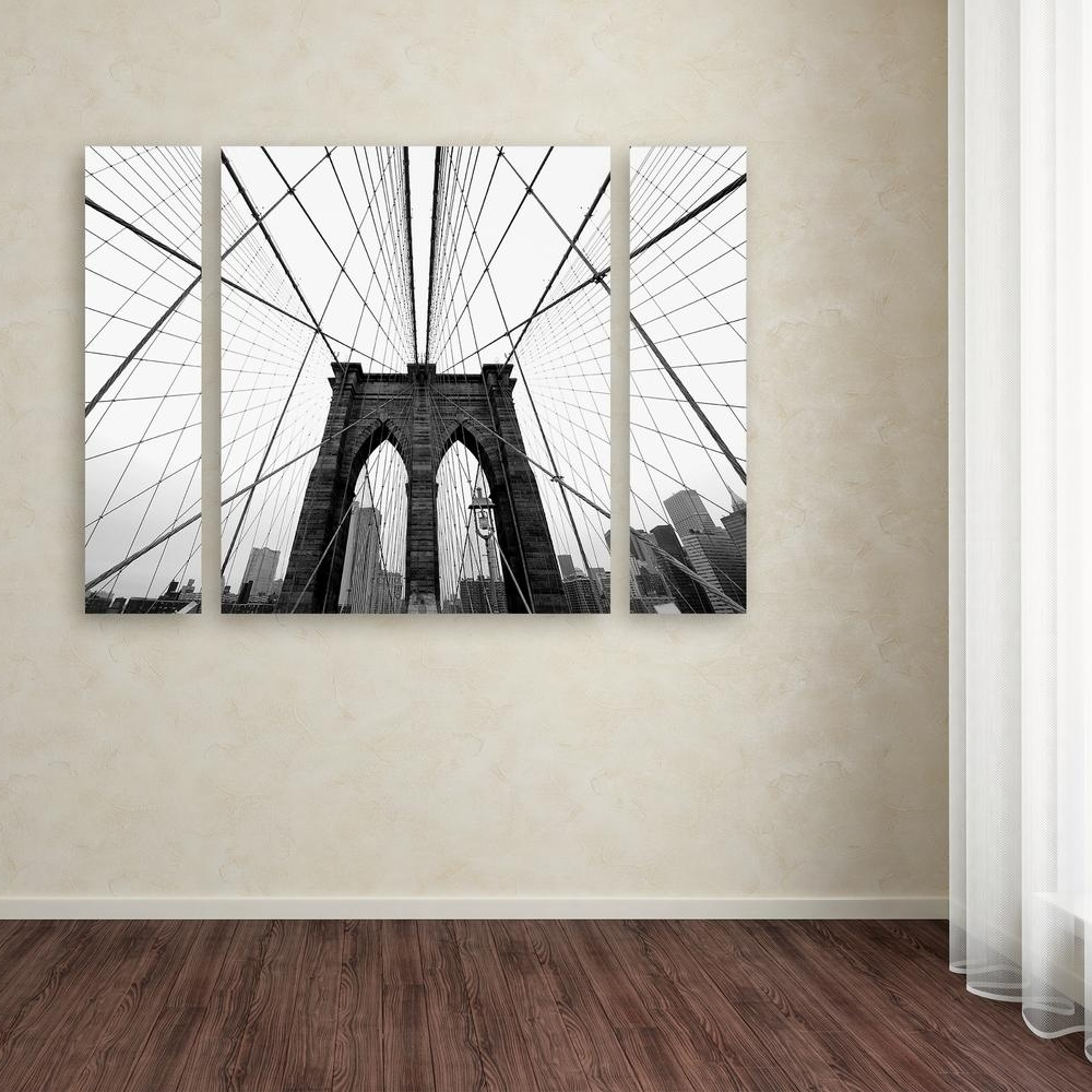 Fashionable Nyc Wall Art Regarding Trademark Fine Art 30 In. X 41 In (View 13 of 15)