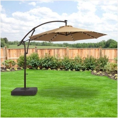 Fashionable Rectangular Patio Umbrella Sunbrella » Cozy Garden Winds Replacement Inside Hampton Bay Patio Umbrellas (View 7 of 15)
