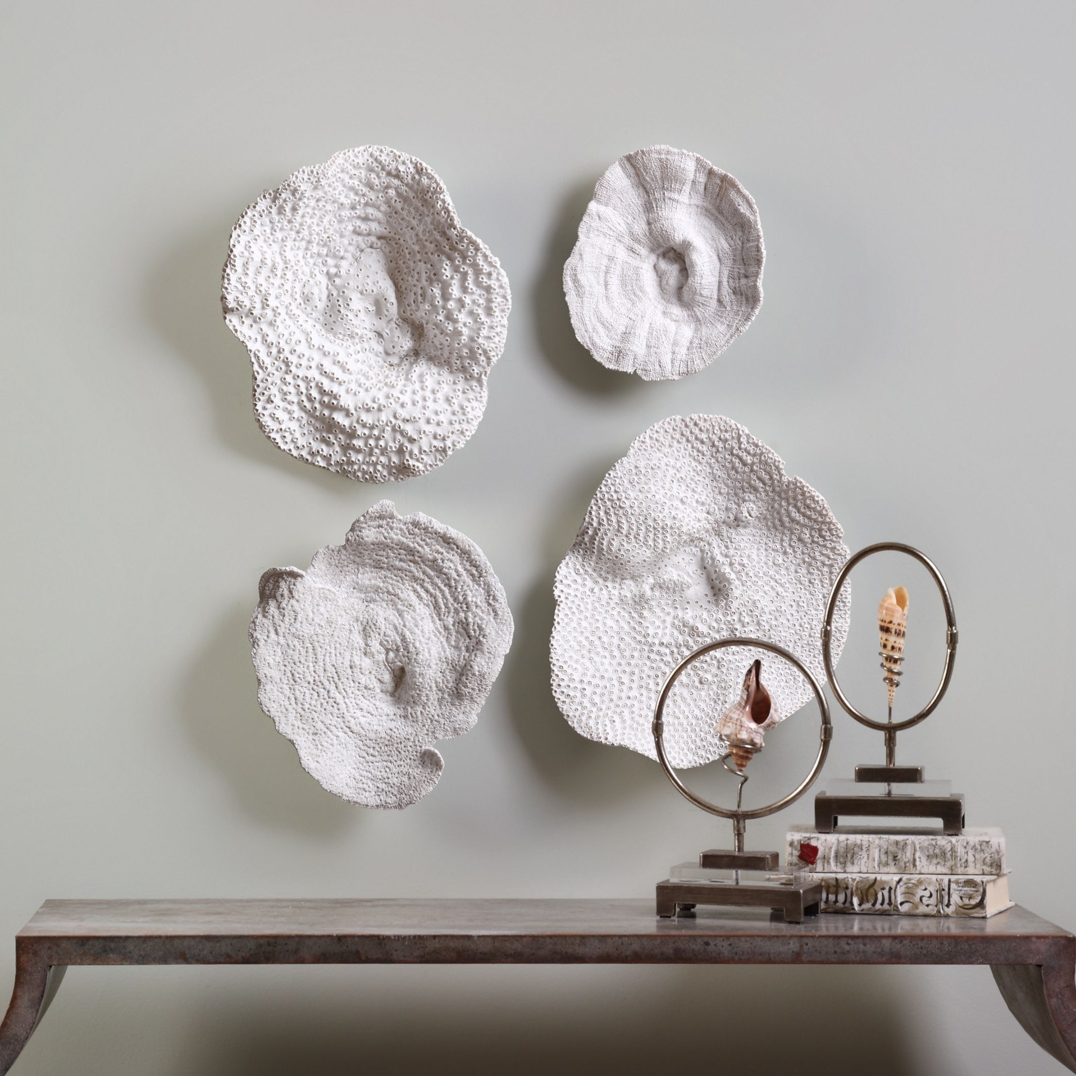 Fashionable Shop Uttermost Sea Coral Wall Art (Set Of 4) – Free Shipping Today With Regard To Coral Wall Art (View 5 of 15)
