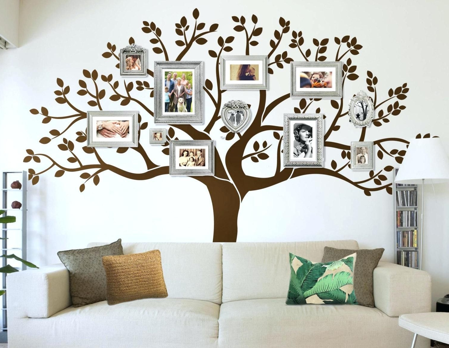 Fashionable Stunning Large Wood Tree Wall Decor Art On Designs Decoration Diy Intended For Tree Wall Art (View 13 of 15)