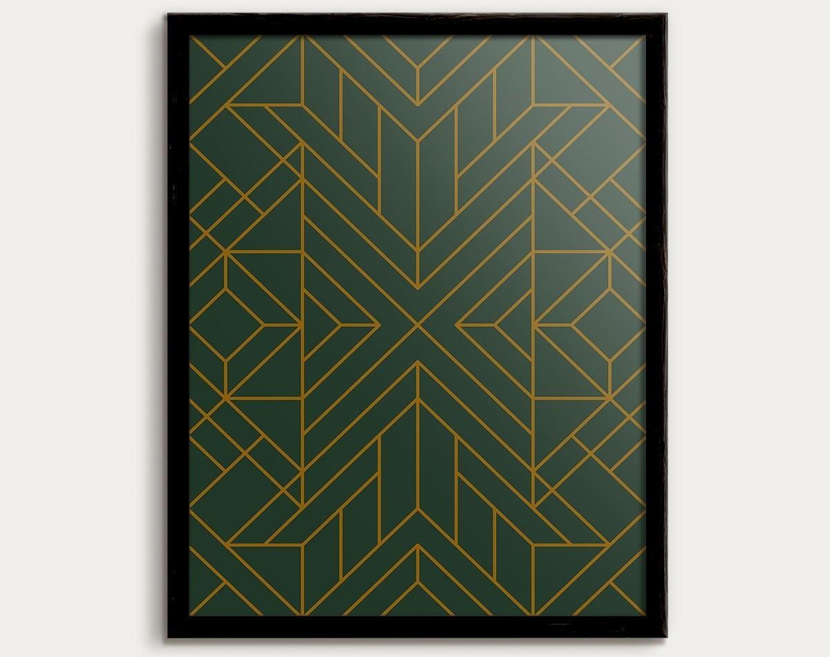 Favorite Art Deco Wall Art Throughout Art Deco Print, Art Deco Poster, Art Deco Decor, Art Deco Pattern (View 9 of 15)