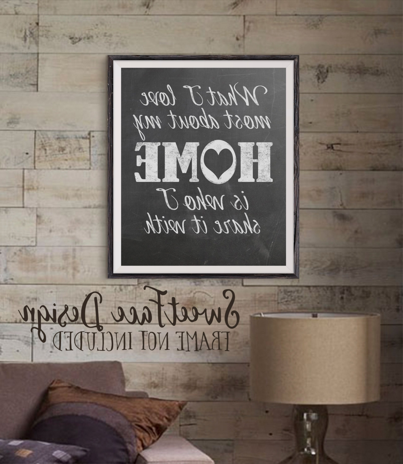 Favorite Chalkboard Wall Art Inside Wall Art Design Ideas: Popular Items Chalkboard Wall Art Square (View 8 of 15)