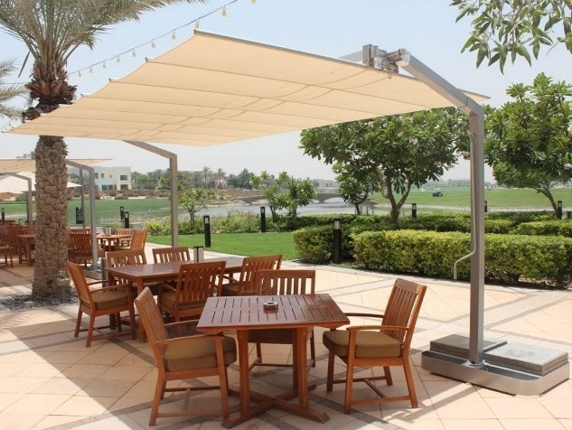 Featured Photo of Offset Patio Umbrellas