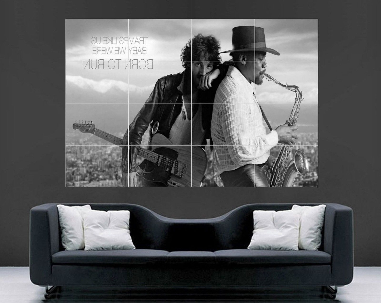 Favorite Giant Wall Art For Bruce Springsteen Poster (Giant Wall Art) – Oldvinylvault (View 1 of 15)