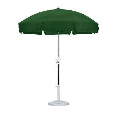 Favorite Green Patio Umbrellas With Regard To Green – Market Umbrellas – Patio Umbrellas – The Home Depot (View 9 of 15)