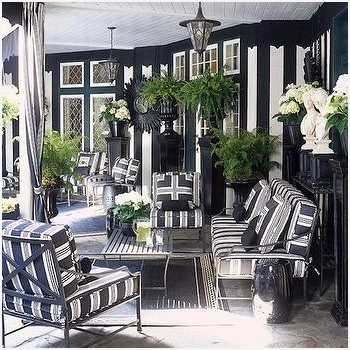 Favorite High End Patio Umbrellas With Regard To White Patio Umbrella » Luxury Black And White Striped Outdoor (View 15 of 15)