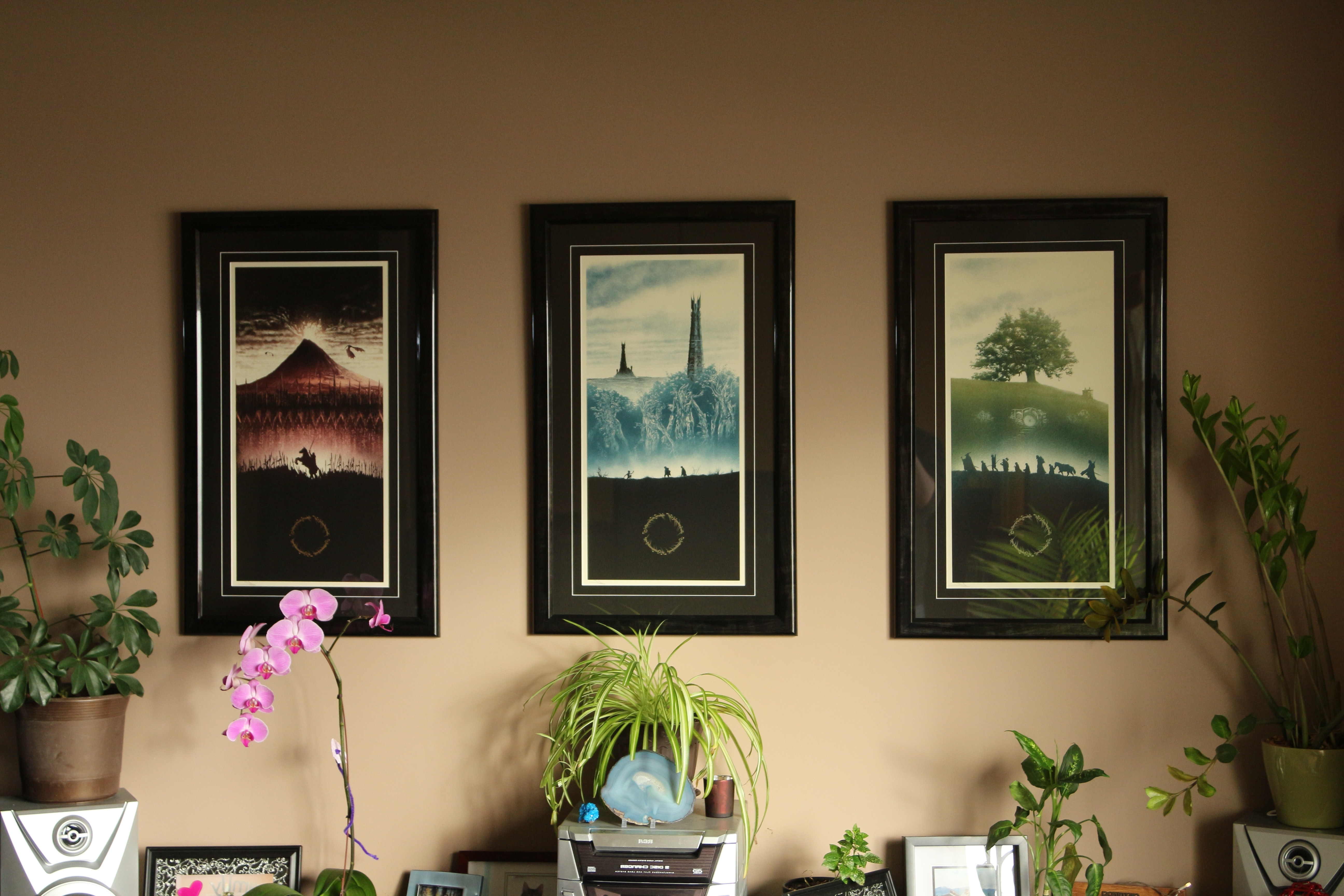 Favorite Lord Of The Rings Art Prints – Imgur Regarding Lord Of The Rings Wall Art (View 12 of 15)