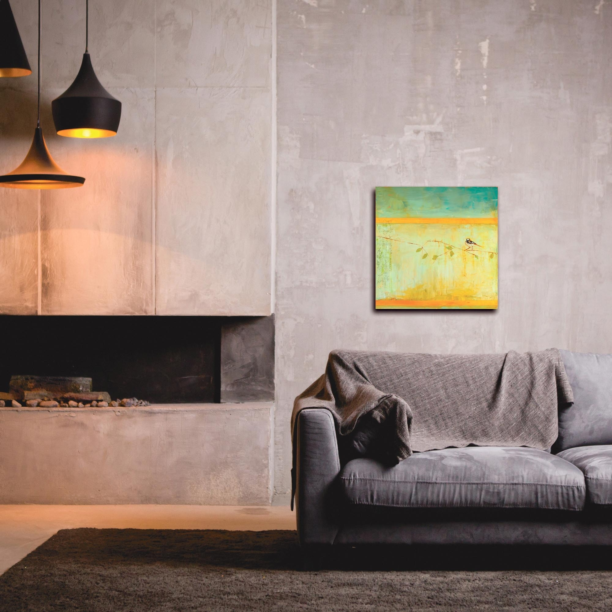 Favorite Metal Art Studio – Bird With Horizontal Stripesjanice Sugg Regarding Contemporary Wall Art (View 5 of 15)
