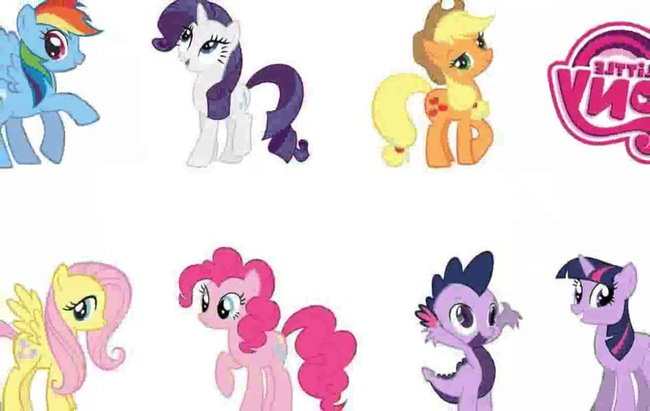 Favorite My Little Pony Wall Art Regarding My Little Pony Wall Decals – Chocaric – Youtube (View 12 of 15)