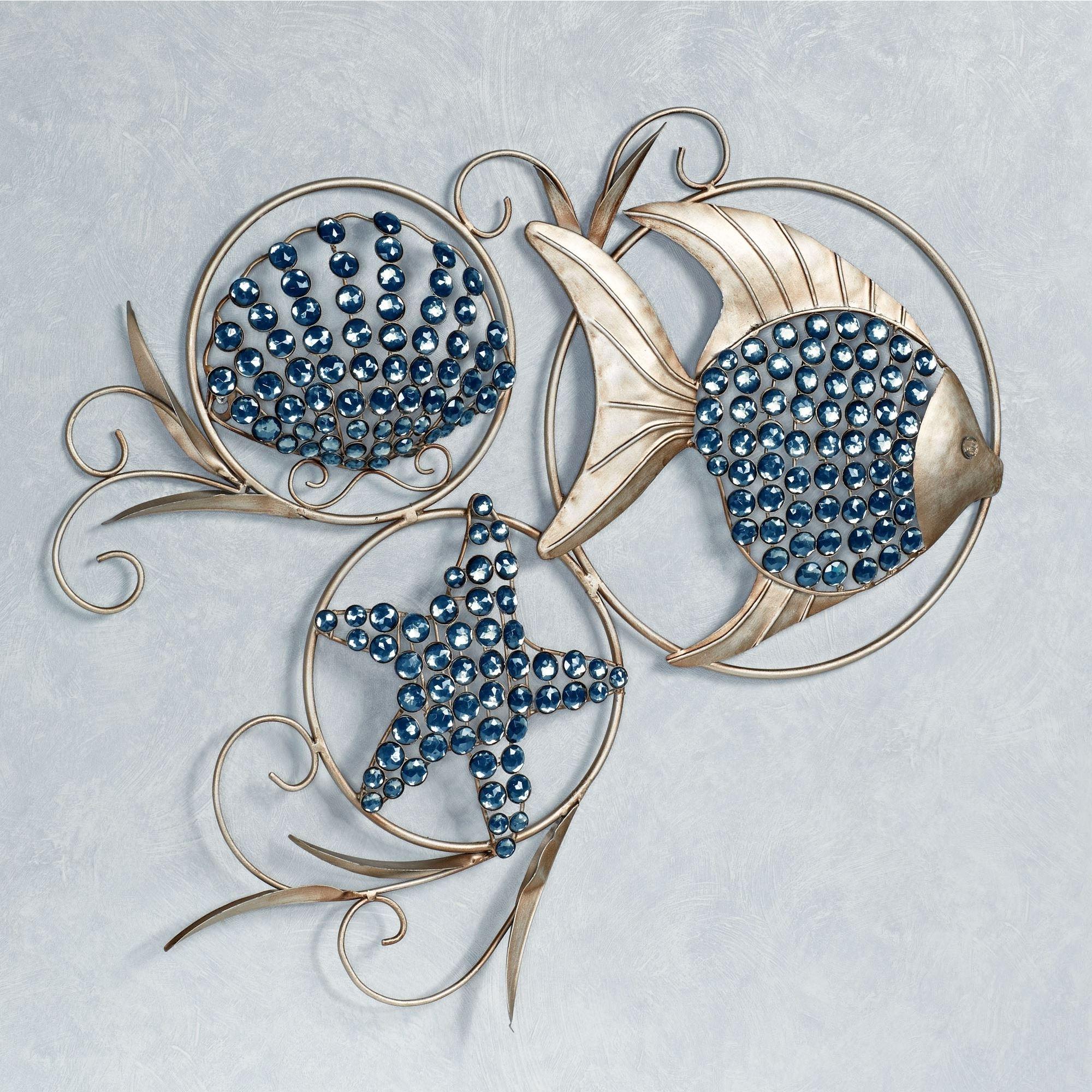 Favorite Ocean Gems Fish And Seashell Metal Wall Art With Regard To Ocean Wall Art (View 7 of 15)