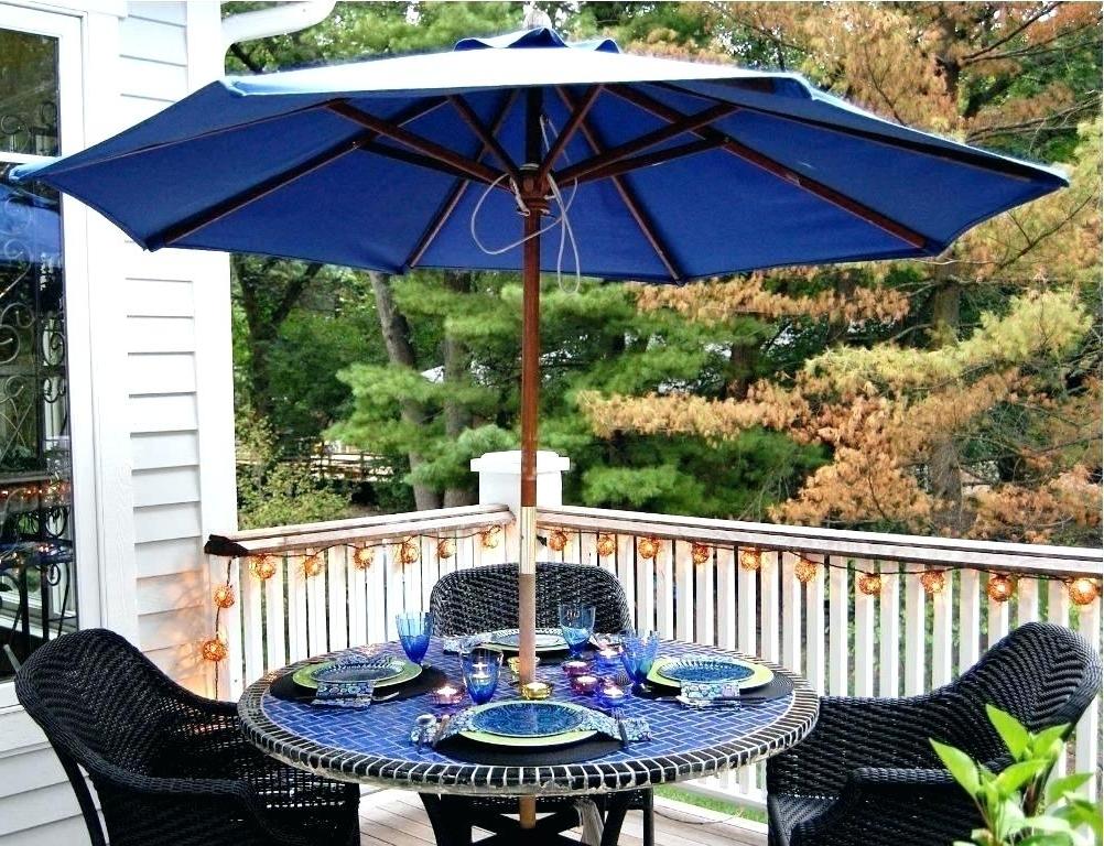 Favorite Patio Table Umbrellas Patio Tables With Umbrellas Outdoor Patio Regarding Small Patio Umbrellas (View 12 of 15)