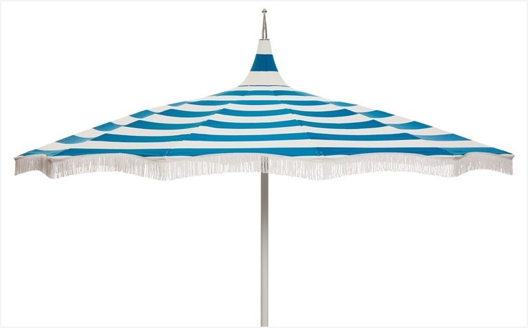 Favorite Patio Umbrellas With Fringe Within Pagoda Patio Umbrella » Charming Light Ari Pagoda Fringe Patio (View 3 of 15)
