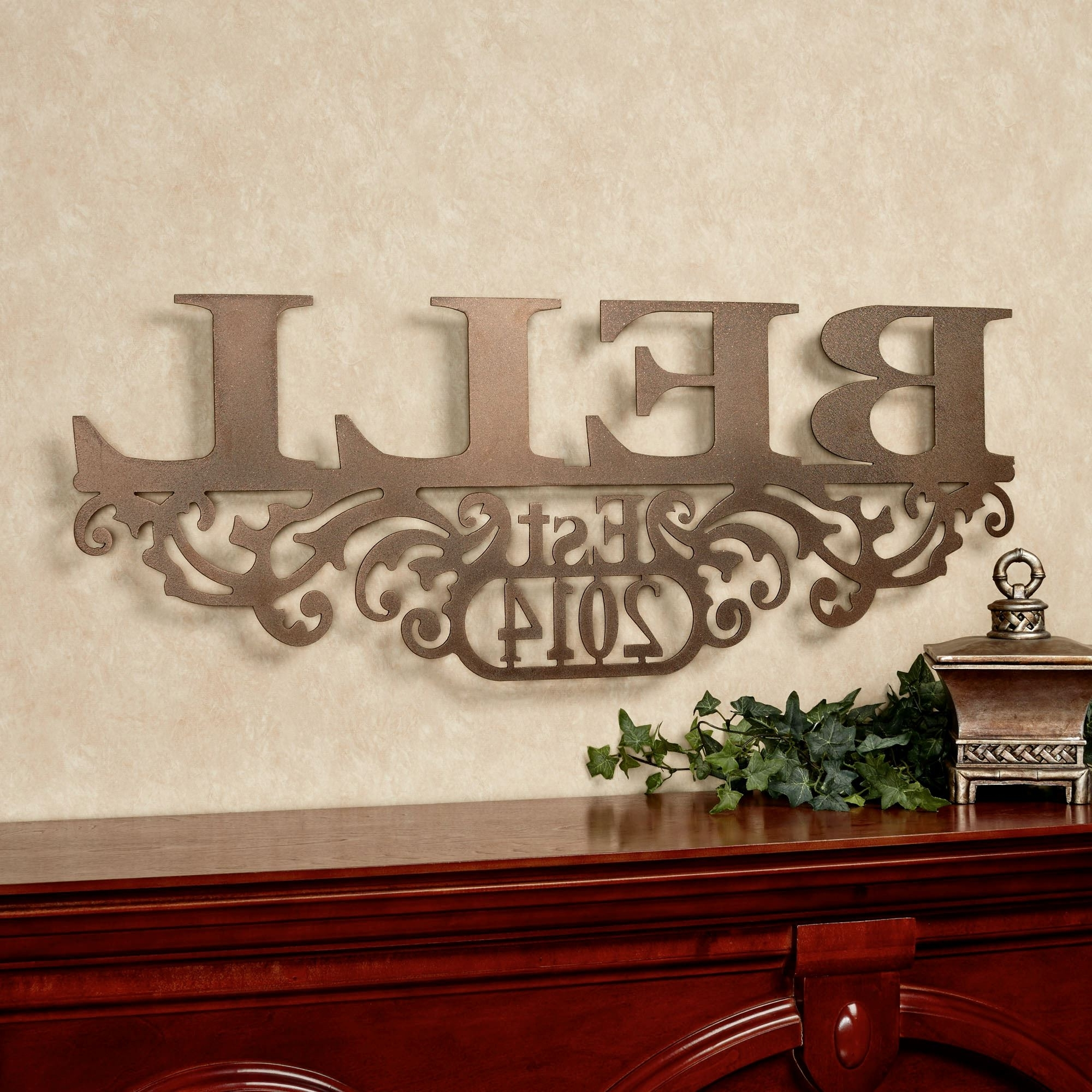 Favorite Personalized Wall Art For Personalized Wall Art – Talentneeds – (View 3 of 15)