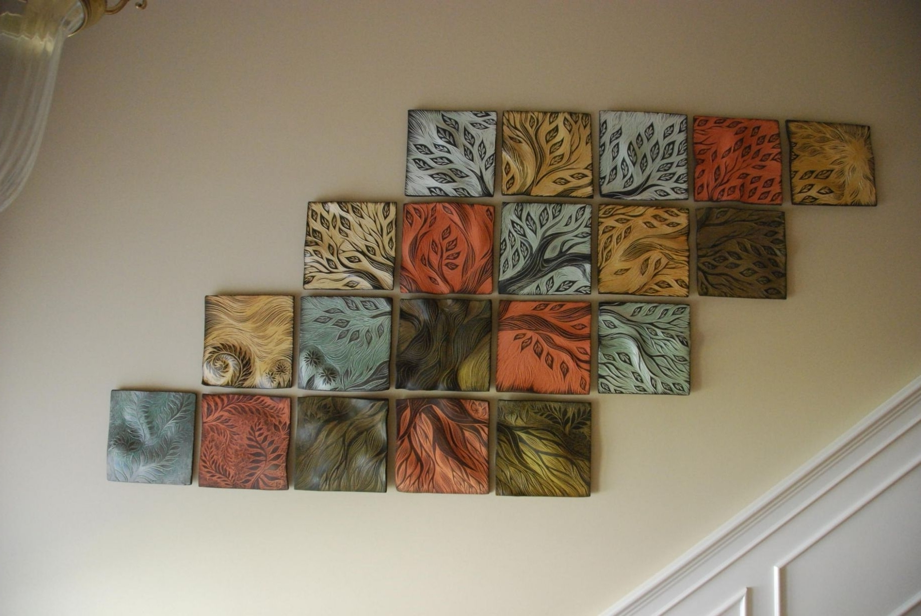 Featured Photo of Tile Canvas Wall Art