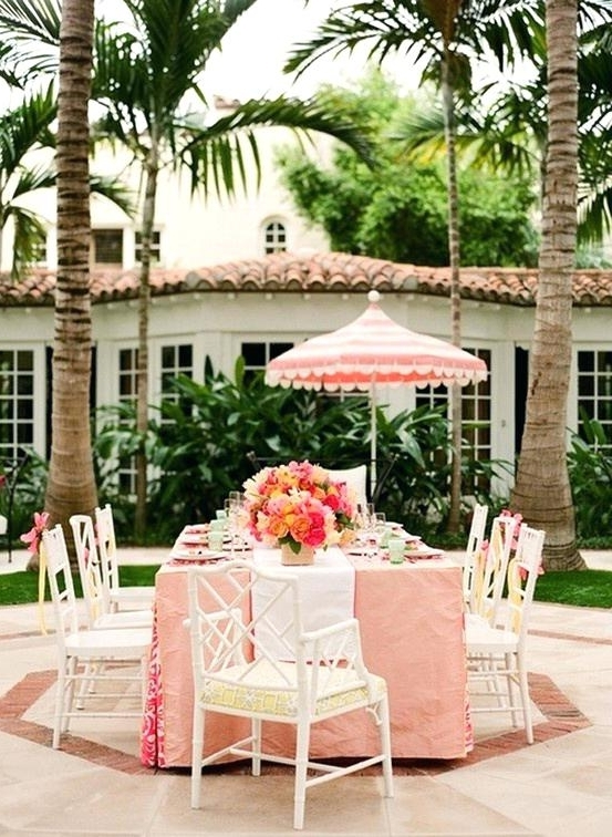 Favorite Pink Patio Umbrellas In Perfect Pink Patio Umbrella Best Outdoor Umbrellas A Twist On The (View 10 of 15)