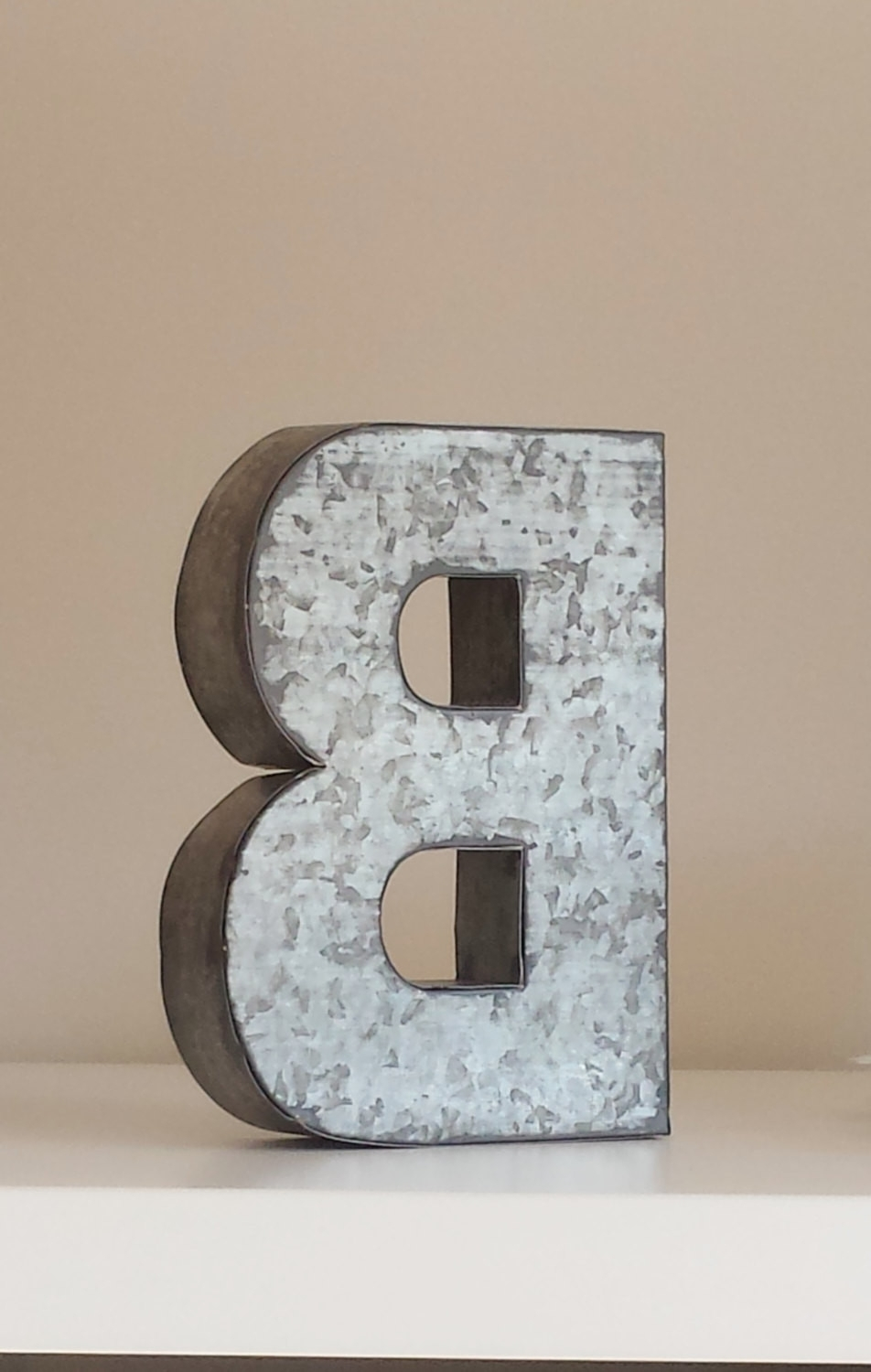 Favorite Sale Large Metal Letter Zinc Steel Initial Home Room Scheme Of Metal Throughout Metal Letter Wall Art (View 3 of 15)