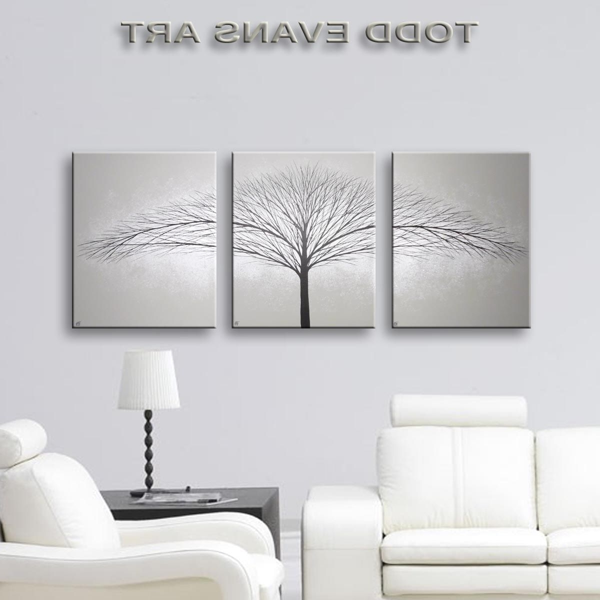 Favorite Sensational Grey Wall Decor Art Canvas Painting Piece Minimalist In Grey Wall Art (View 5 of 15)