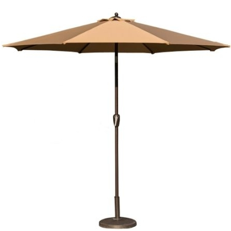 Favorite Shop For Toucan Outdoor 9 Ft Market Table Patio Umbrella With Tilt With Regard To 9 Ft Patio Umbrellas (View 14 of 15)