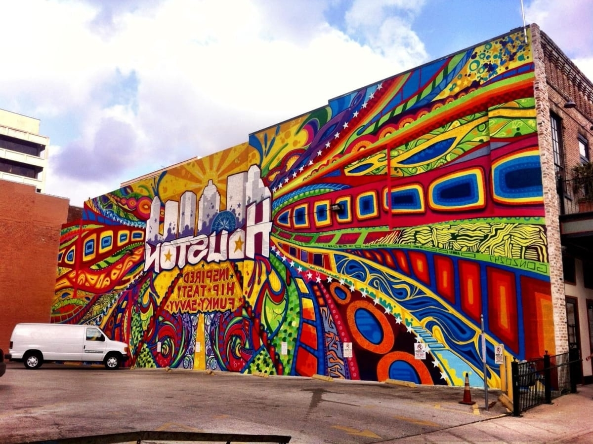 Favorite Street Art: 15 Houston Murals That Make The Perfect Instagram With Houston Wall Art (View 4 of 15)
