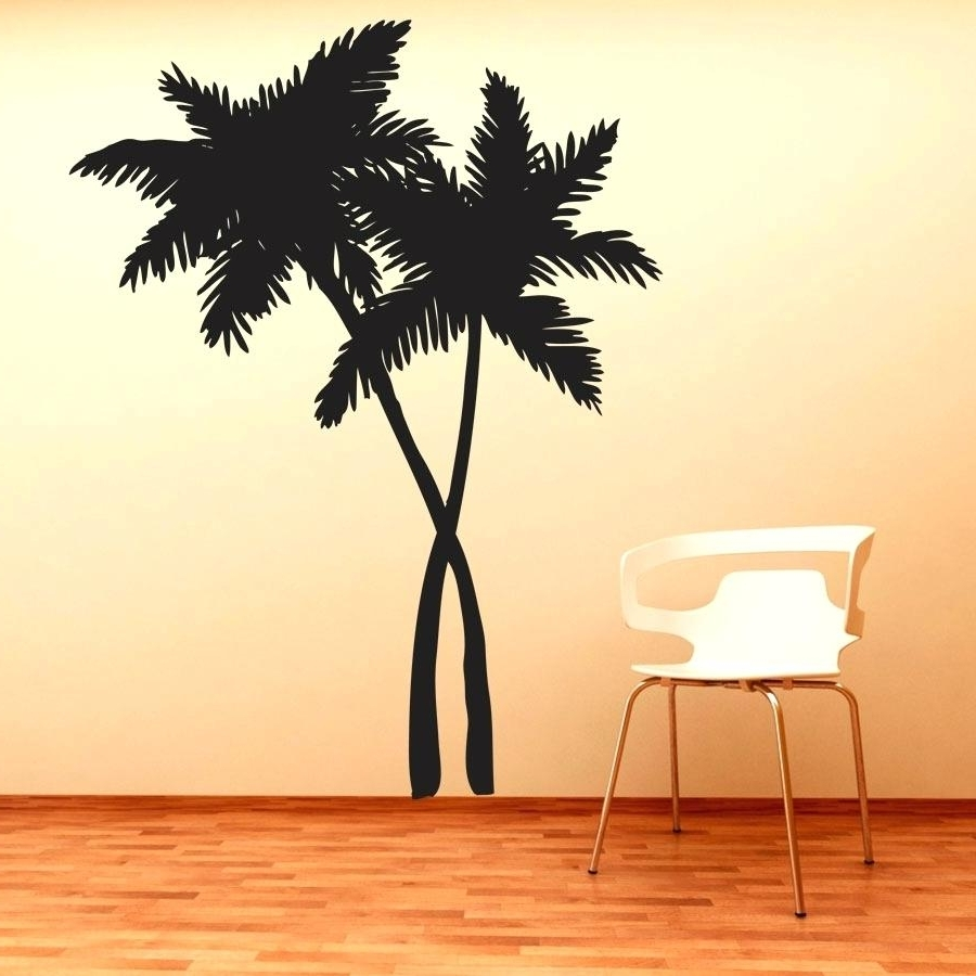 Favorite Wall Art Decals Tree Swaying Palm Trees Wall Art Decal Wall Decals Throughout Palm Tree Wall Art (View 5 of 15)