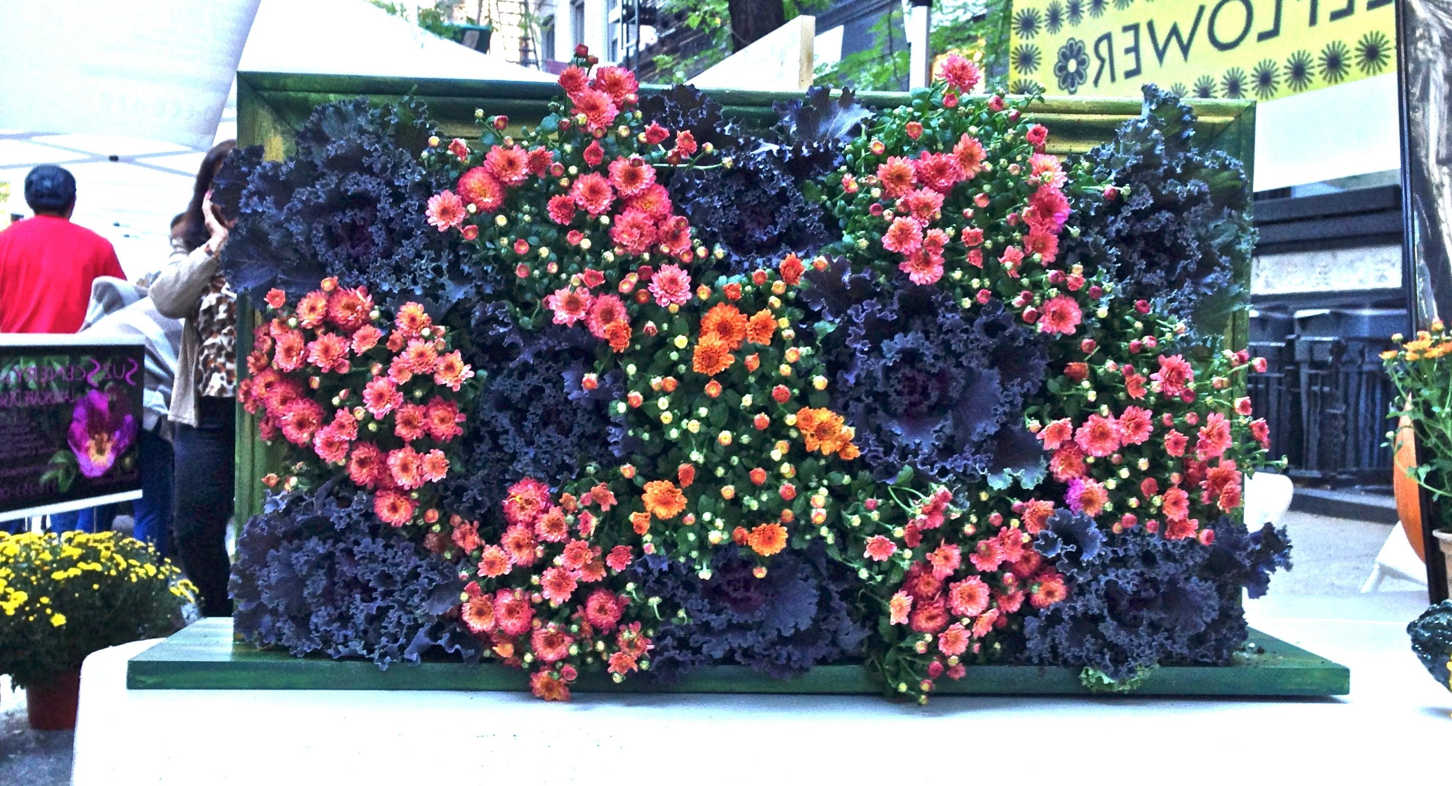 "Favorite Wallflower"" Living Wall Art (View 11 of 15)"