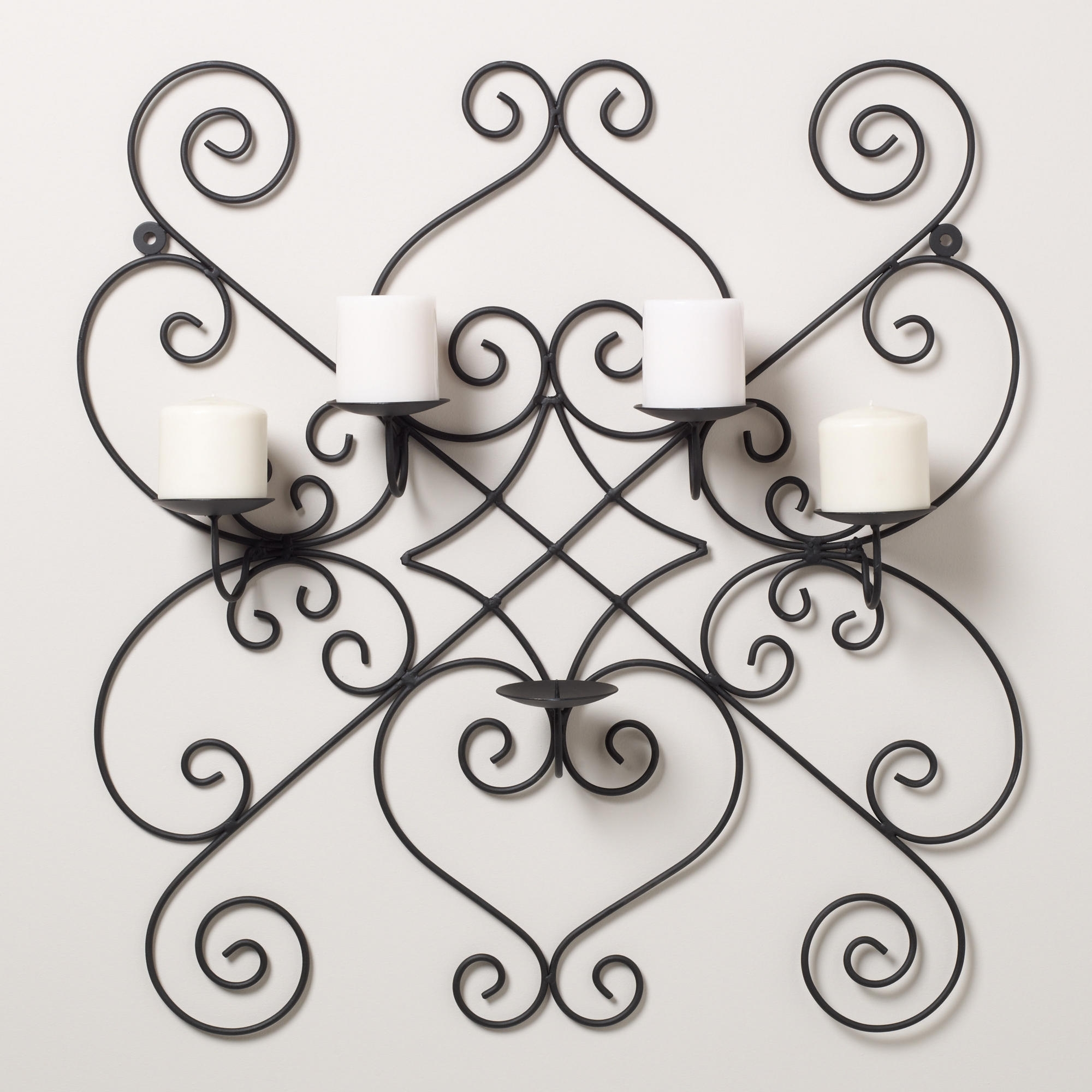 Favorite Wrought Iron Wall Art Throughout Awesome Wrought Iron Wall Decor — Charter Home Ideas : Benefit Of (View 8 of 15)