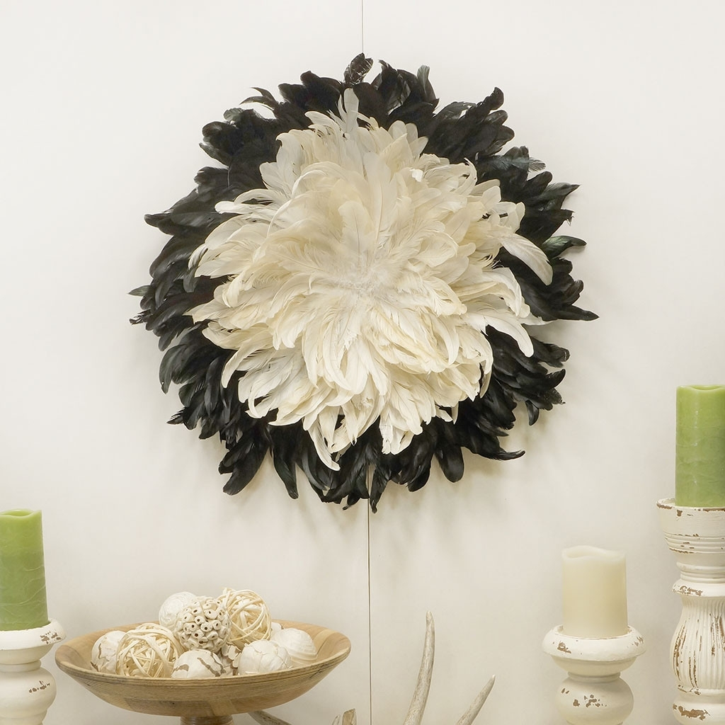 Feather Wall Art With Famous Decorative Feather Wall Art (View 9 of 15)