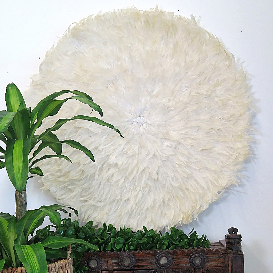 Feather Wall Art With Latest Extra Large Feather Wall Art – Ivory – Without Shell Detail – Maison (View 10 of 15)