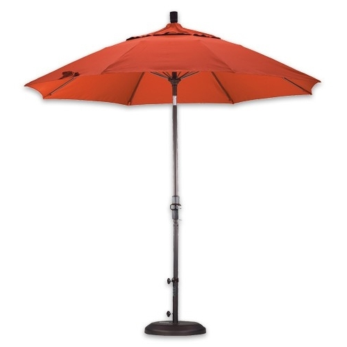 Fiberglass Patio Umbrellas Inside Most Recently Released Patio Umbrellas For High Wind Areas (View 11 of 15)