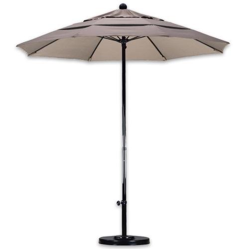 Fiberglass Patio Umbrellas Within Patio Umbrellas For Windy Locations (View 7 of 15)