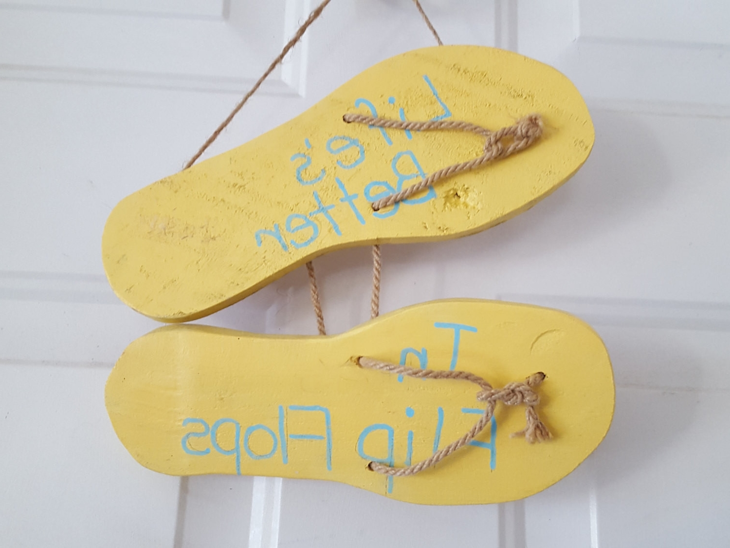 Fine Flip Flop Wall Decor Gift The Art Decorations On And With 2017 Flip Flop Wall Art (View 10 of 15)