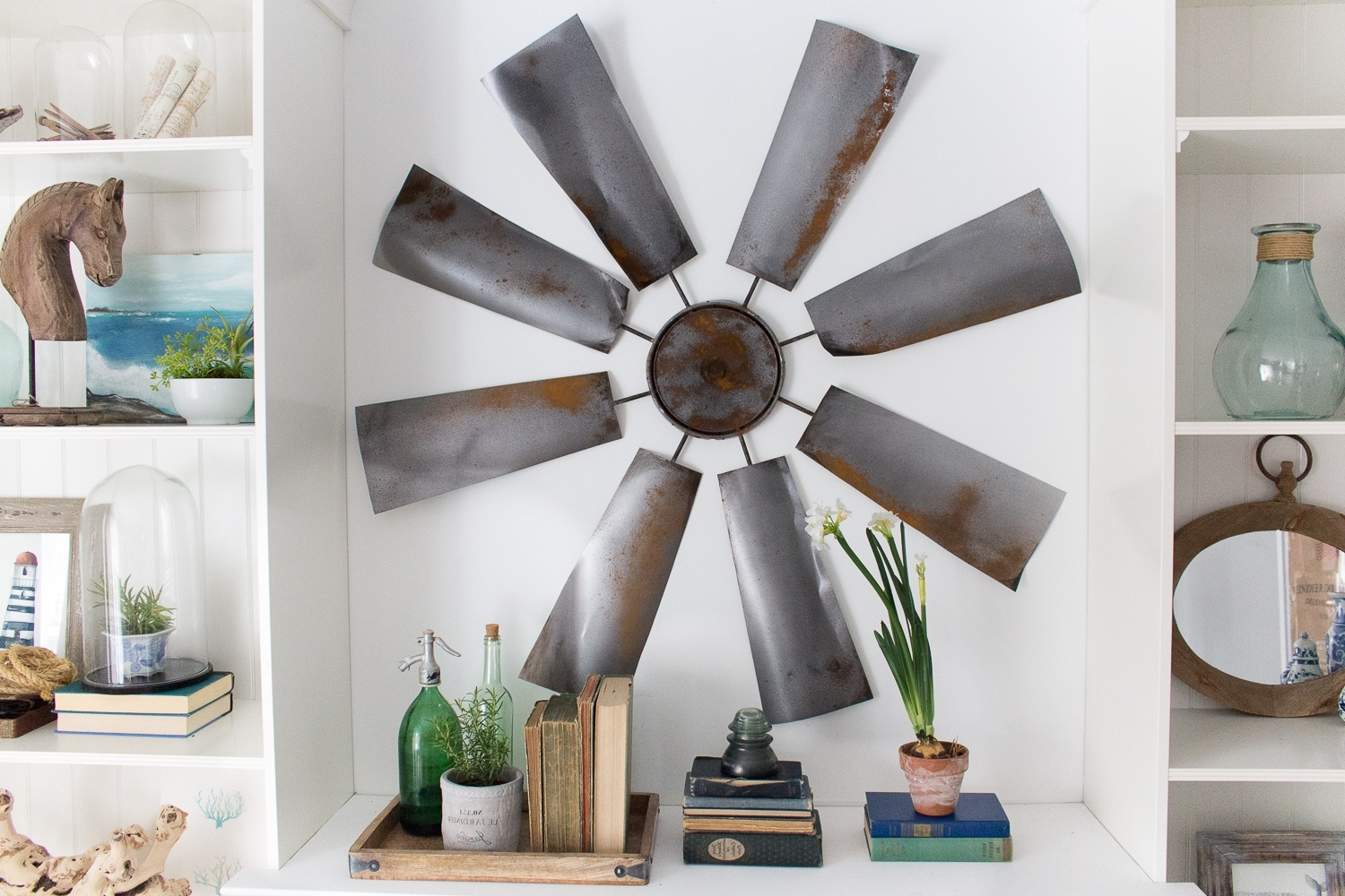 Fixer Upper Decor: Diy Windmill Intended For 2017 Windmill Wall Art (View 8 of 15)