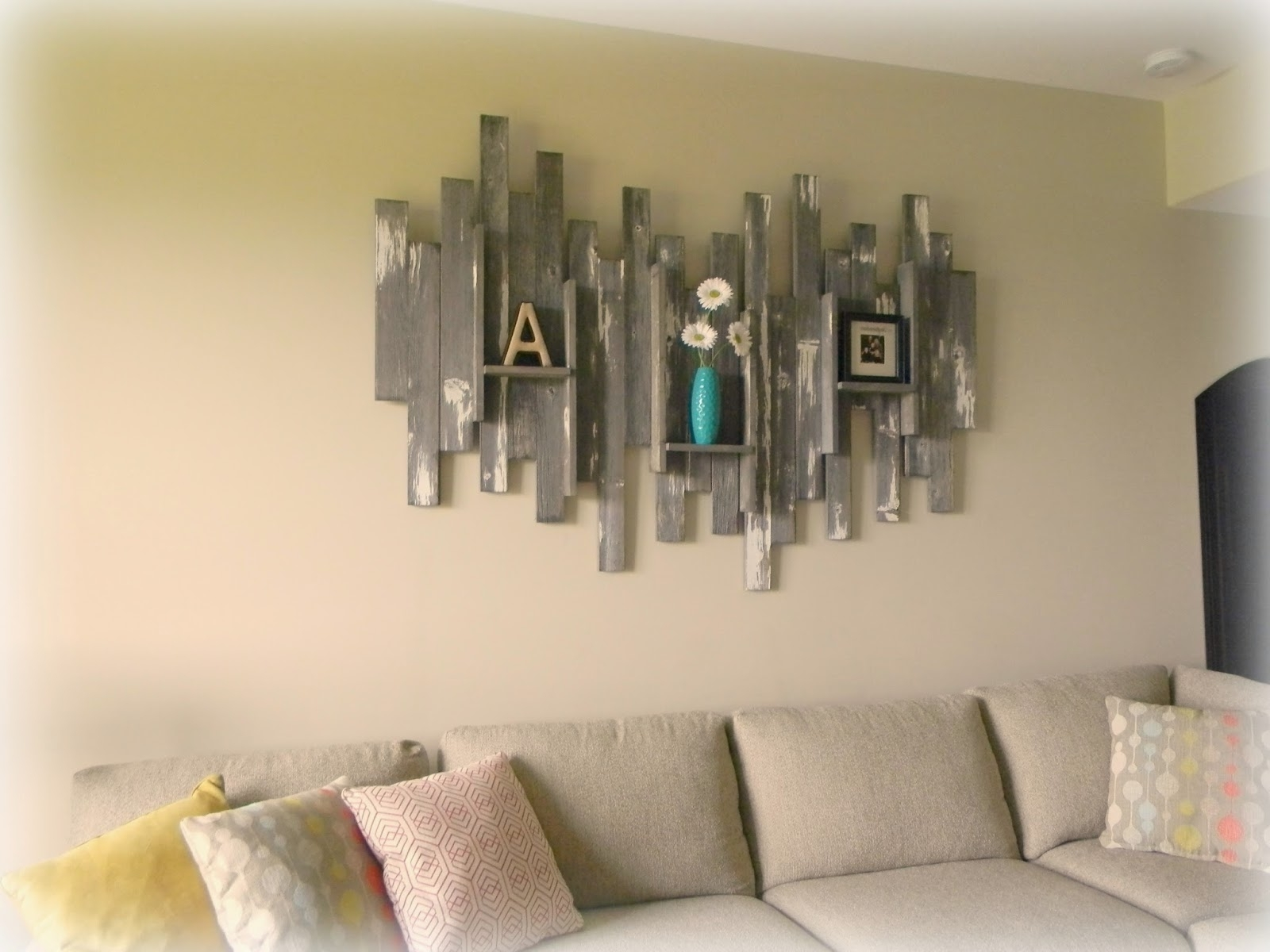 Forever Decorating Barn Wood Wall Art Basement – Home Art Decor (View 9 of 15)