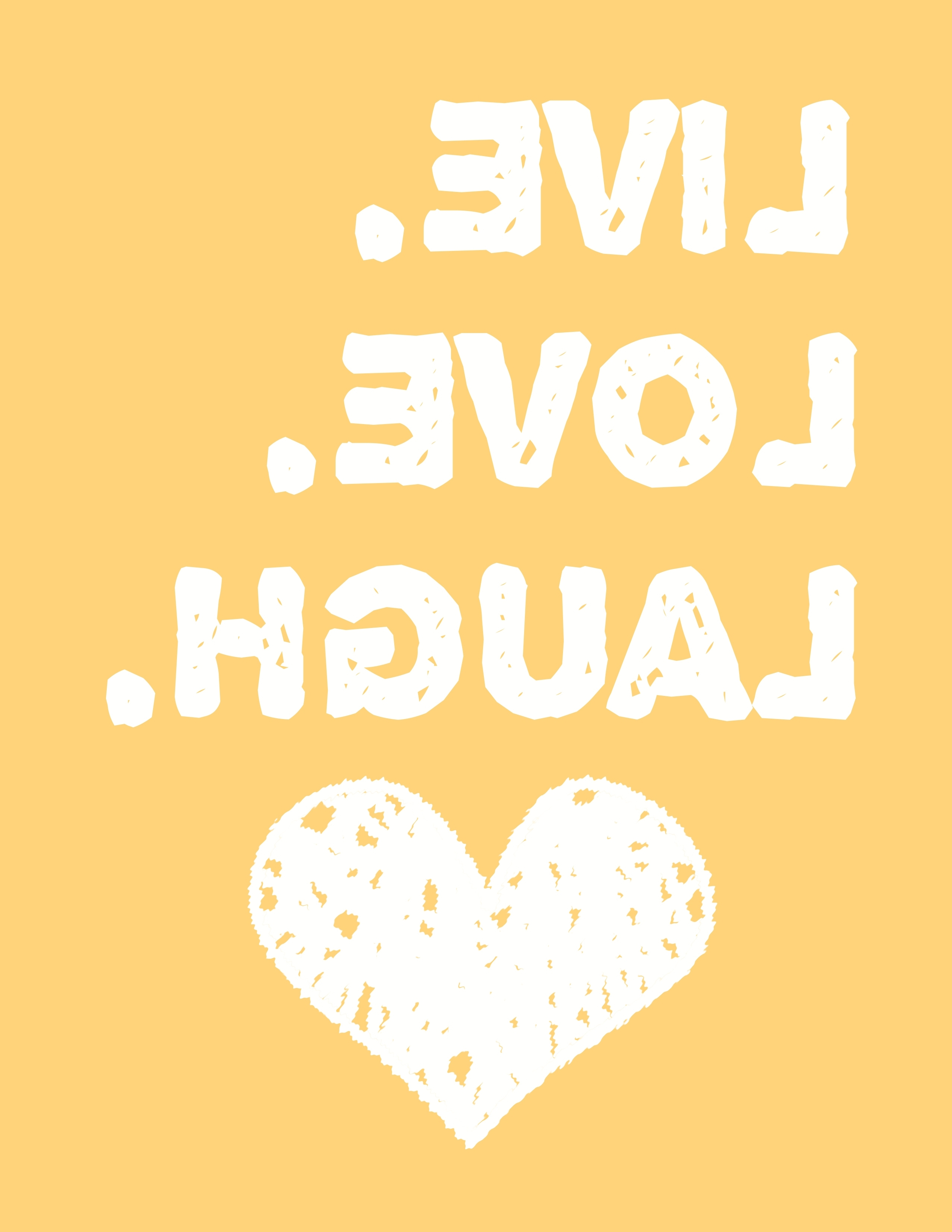 Free Printable Wall Art Decors Inside Most Popular Live Love Laugh Wall Art – A Free Printable! – Moms And Crafters (View 6 of 15)