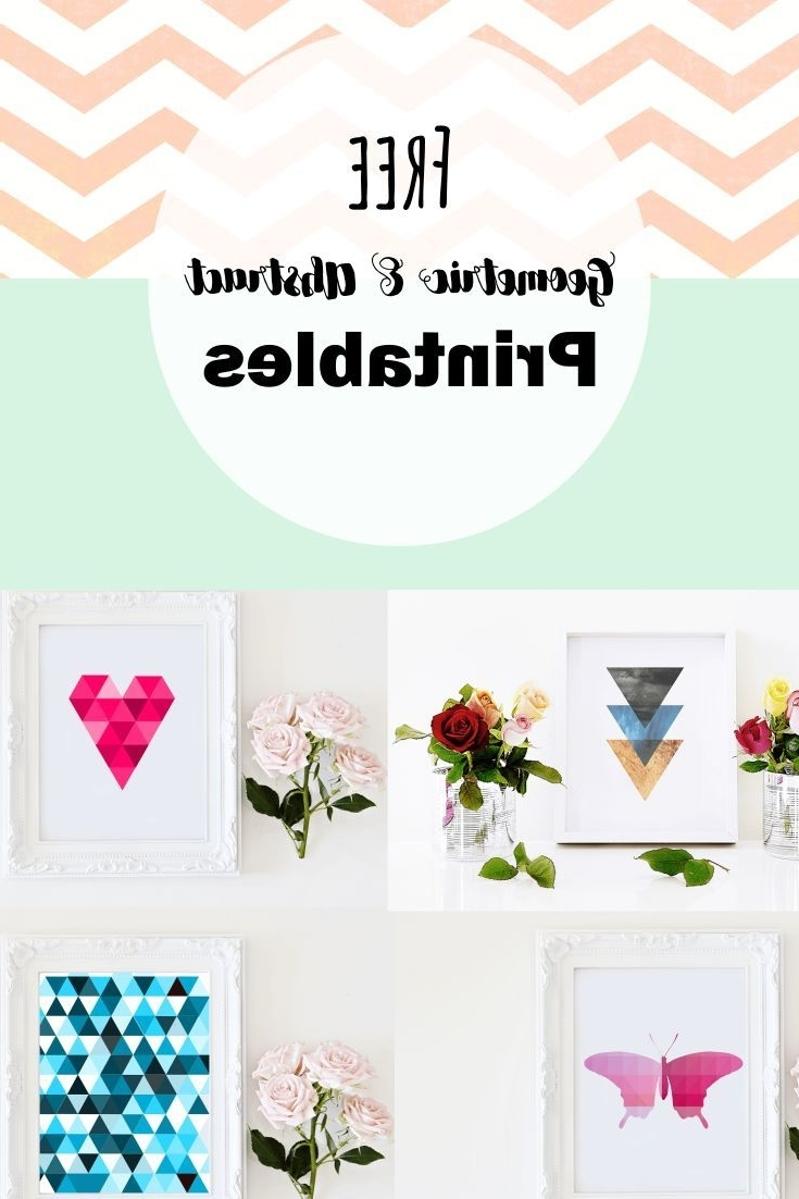 Free Printable Wall Art Inside Current Free Geometric And Abstract Printable Wall Art (View 12 of 15)
